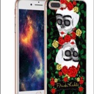 Accessories - Frida Kahlo skull IPhone 7 phone case